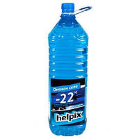 Жидкость бачка омывателя зима HELPIX морская свежесть 2л -22С