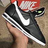 Nike Wmns Classic Cortez Black/White О Му, фото 2