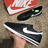 Nike Wmns Classic Cortez Black/White О Му, фото 6