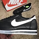 Nike Wmns Classic Cortez Black/White О Му, фото 7