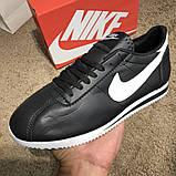 Nike Wmns Classic Cortez Black/White О Му, фото 9