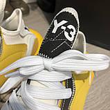 Adidas Y-3 Kaiwa Sneakers Yellow/White О Му, фото 5