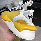 Adidas Y-3 Kaiwa Sneakers Yellow/White О Му, фото 6