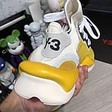 Adidas Y-3 Kaiwa Sneakers Yellow/White О Му, фото 8