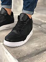 Мужские баскетбольные кроссовки Nike Air Jordan 3 Retro Cyber Monday Black (Топ качество)