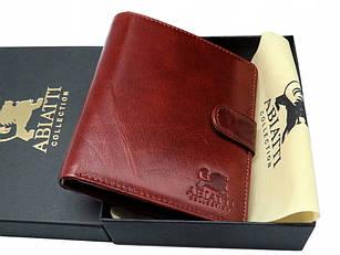 Мужской кожаный кошелек портмоне Abiatti коричневый K004