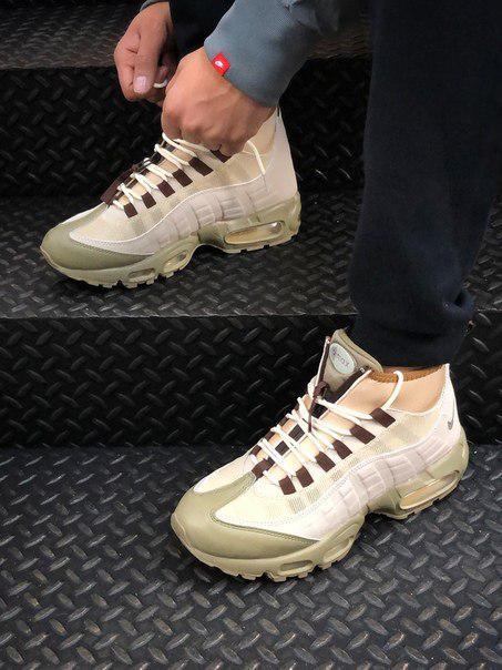Мужские кроссовки Nike Air Max вставки Air-Sole