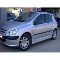 Peugeot 307 2001+ Боковые пороги (под покраску)