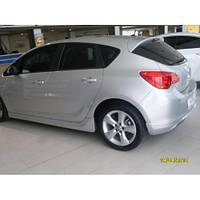 Opel Astra J 2010+ гг. Спойлер HB (под покраску)