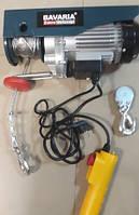 Тельфер электрический лебедка 300/600кг 2,2кВт 12/6м Bavaria TP-110 (Польша)