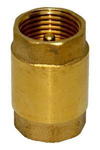 """Обратный клапан с латунным штоком 1 1/4"""" Valve, фото 2"""