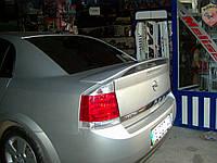 Opel Vectra C 2004+ гг. Спойлер Исикли (под покраску)