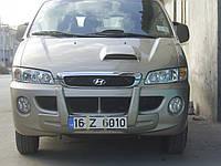 Hyundai Starex H1 H200 1998-2007 гг. Центральная губа (под покраску)