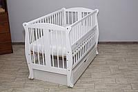 Кроватка детская «Грация» ТМ Дубок есть ОПТ и розница