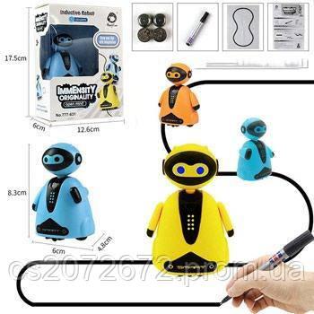 Индуктивная игрушка Робот с индуктивным сенсором LED