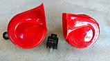 Сигнал звуковой автомобильный Hella (3FH 007 424-801) 12v, фото 2