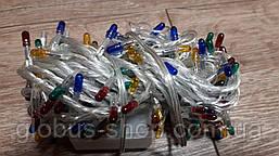 Гирлянда ламповая, 200 ламп, прозрачный, разноцветная 2