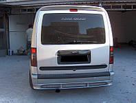 Ford Connect 2006-2009 гг. Задний бампер (накладка, под покраску)