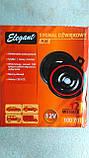 Сигнал звуковой автомобильный Elegant (100 701) 12v, фото 3