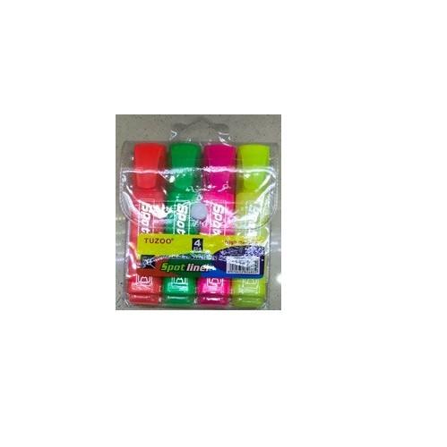 Набор маркеров Wild&Mild, текстовыделитель, 4 цвета, ST00752