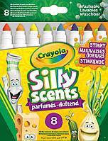 """Ароматизированные смываемые фломастеры Crayola Silly Scents """"Вонючки"""" 8 шт. (58-8267)"""