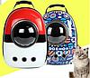 Рюкзак для животных, для кошек и собак CosmoPet, 2 Варианта 42-32-29 см