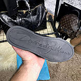 Dolce & Gabanna Portofino Sneakers Black ум, фото 5
