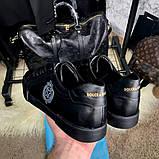 Dolce & Gabanna Portofino Sneakers Black ум, фото 6