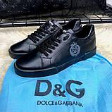 Dolce & Gabanna Portofino Sneakers Black ум, фото 7