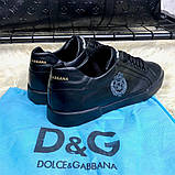 Dolce & Gabanna Portofino Sneakers Black ум, фото 8