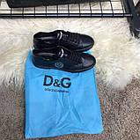 Dolce & Gabanna Portofino Sneakers Black ум, фото 9