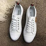 Gucci Logo Sneaker White ум, фото 3
