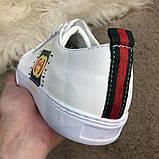Gucci Logo Sneaker White ум, фото 4