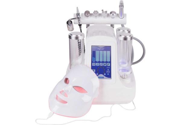 Косметологический многофункциональный комбайн гидродермабразии и лифтинга (7 в 1) аппарат Smart Bubble