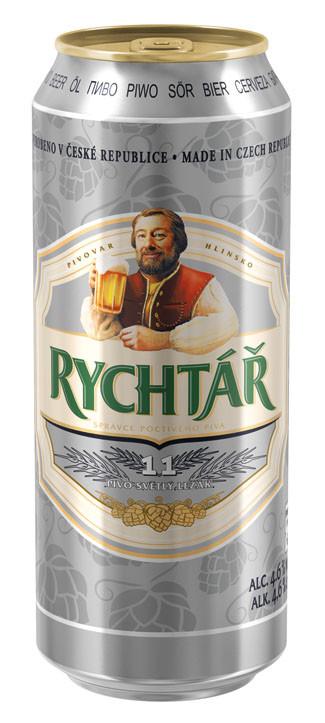 Чешское пиво Rychtar (Рив Грюнт)