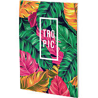 Блокнот-планшет Kite Neon Tropics А5 50 л.клетка (8441-07-A)