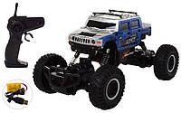 Радиоуправляемый монстр-трак Rock Crawler Джип SL-102A синий