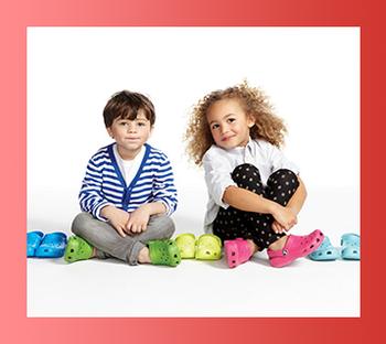Кроксы детские, размеры 18-35