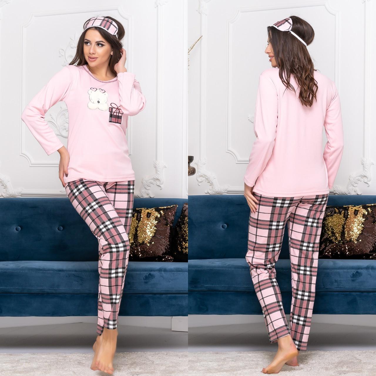 Женская пижама, розовый