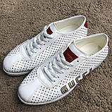Gucci Falacer Sneaker Golden Stars White ум, фото 2