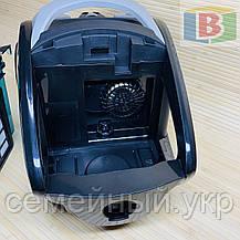 Пылесос технология мультициклон мощность 2600 W Crownberg, фото 3