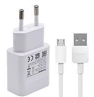 Сетевое зарядное устройство зарядка Huawei (Y) 2 в 1 Micro USB оригинал для