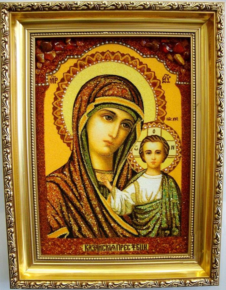 Казанская і-07 Икона Божией Матери