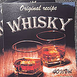 "Наклейка на пляшку сувенірна ""WHISKY"", фото 2"