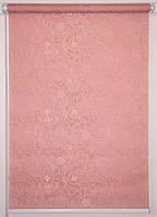Рулонная штора Арабеска 1842 Розовый, фото 1