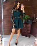 Нарядное женское платье 42-44 44-46, фото 3