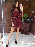 Нарядное женское платье 42-44 44-46, фото 7