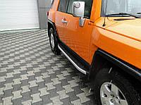Toyota FJ Cruiser Боковые площадки Fullmond (2 шт, алюм)
