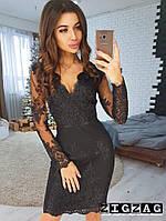 Элегантное кружевное платье,вечернее платье,нарядное платье цвет черный.