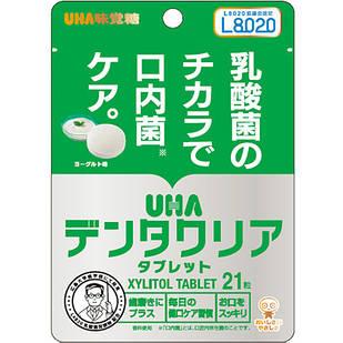 Denta Clear таблетки с молочнокислыми бактериями пищевыми волокнами  со вкусом йогурта 21 т